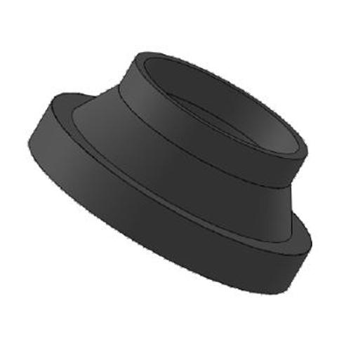 Portabridas SDR 17 con Chafán para Válvula de Mariposa