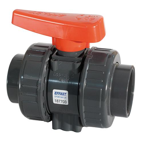 Válvula de Bola para Industria BK1 Doble Unión Roscar (Junta EPDM)