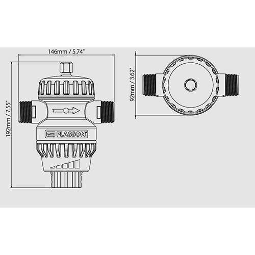 Regulador de Presión Universal UPR 550