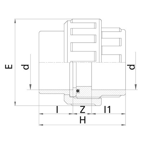 Enlace 3 Piezas - Encolar 63