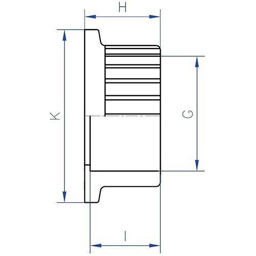 Enlace Válvula PVC - Rosca 3''