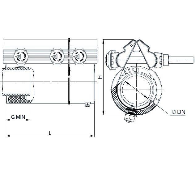 REPAMAX Ancho 280 mm Tolerancia 12 mm 45-57