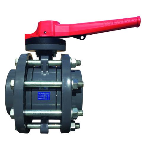Válvula de Mariposa Embridada para Industria PROFLOW Serie P (EPDM)