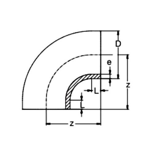 Multicodo Corto 90º SDR 11