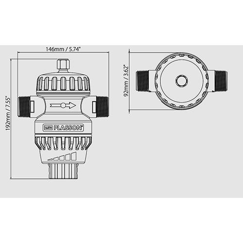 Regulador Universal de Presión UPR 550