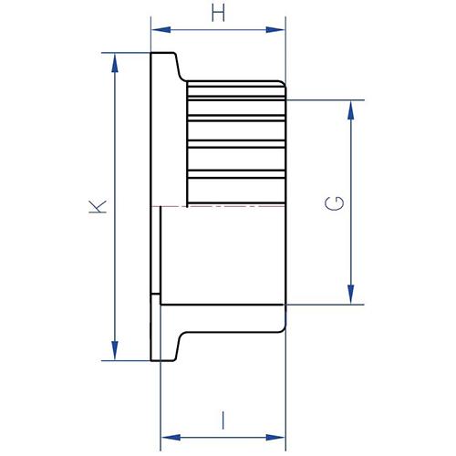 Enlace Válvula PVC – Rosca