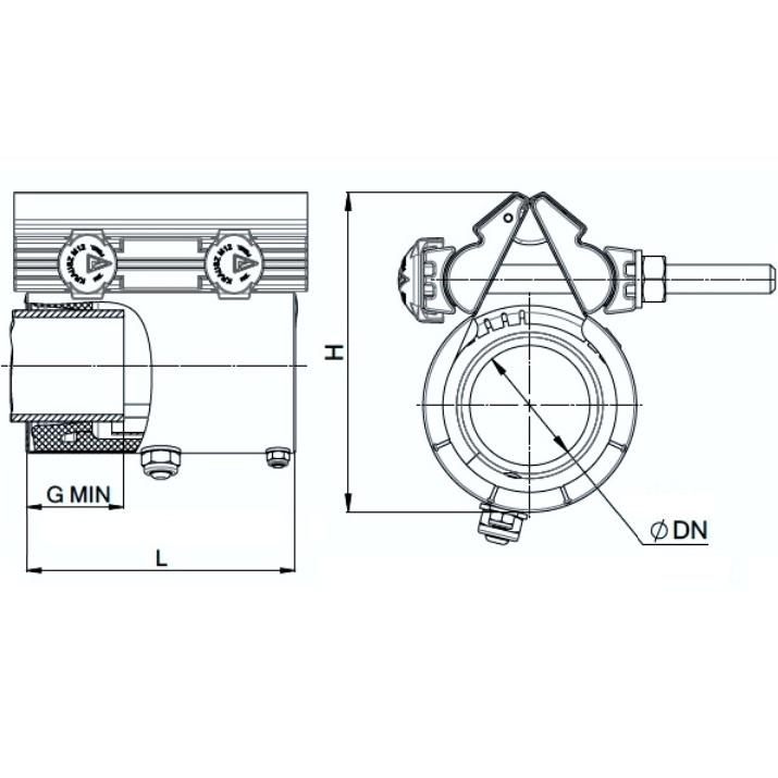 REPAMAX Ancho 140 mm Tolerancia 12 mm