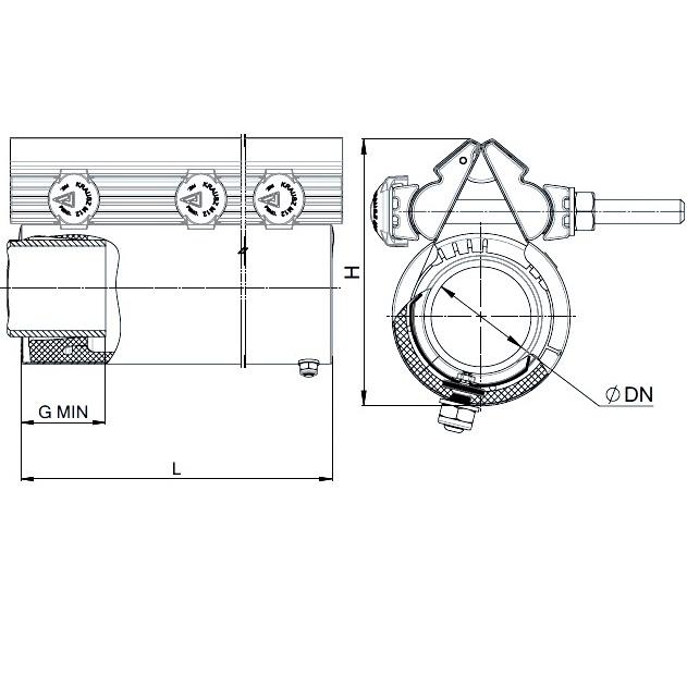 REPAMAX Ancho 280 mm Tolerancia 12 mm
