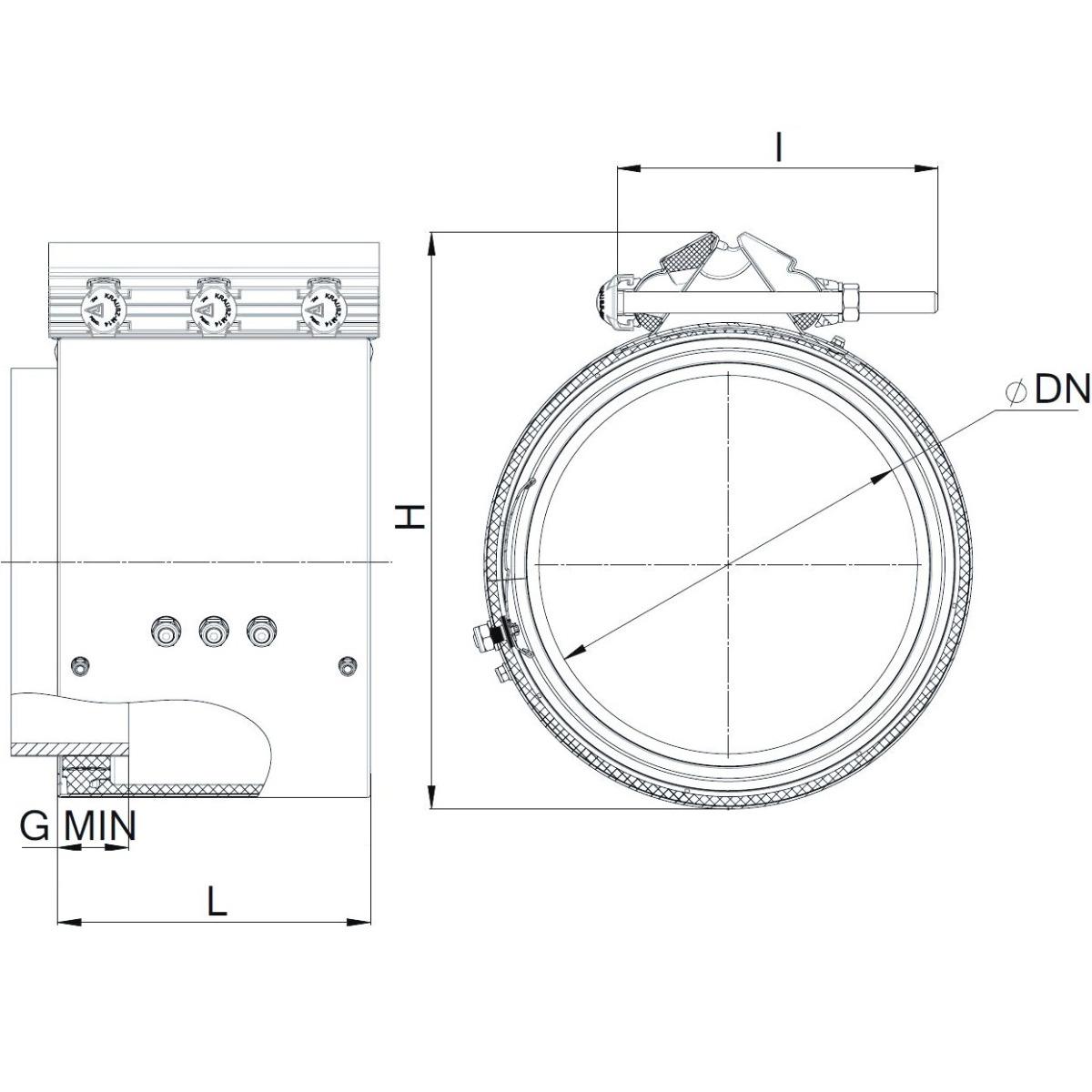 REPAMAX Ancho 210 mm Tolerancia 32 mm