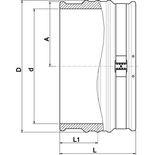 Manguito Electrosoldable Lightfit (No SMARTFUSE)