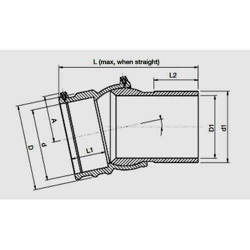 Codo Ajustable Electro - Spigot