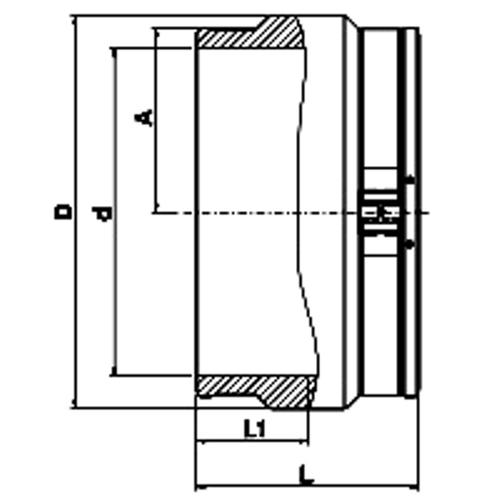 Manguito Electrosoldable PN16 (No SMARTFUSE)