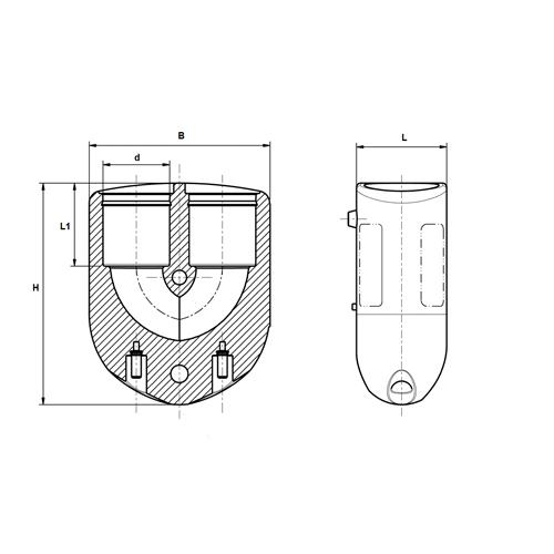 Codo 180º Electrosoldable