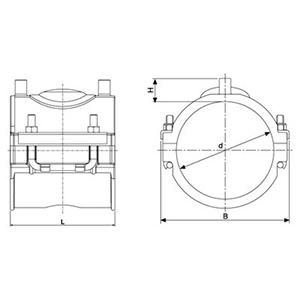 Abrazadera de Reparación Electrosoldable