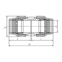 Enlace PVC - PVC